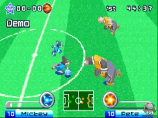 Disney Sports Football: Screenshot