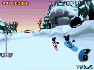 Wanneer Mickey een trucje doet, maakt Minnie van de gelegenheid gebruik om hem in te halen.