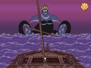 Je hebt ook de mogelijkheid om te spelen met de griezelige Ursula!