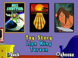Skate met personages uit Toy Story, <a href = https://www.mariogba.nl/gameboy-advance-spel-info.php?t=Disneys_De_Leeuwenkoning target = _blank>de Leeuwenkoning</a> en <a href = https://www.mariogba.nl/gameboy-advance-spel-info.php?t=Disneys_Tarzan_Return_to_the_Jungle>Tarzan</a>!
