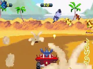 Kijk uit voor de bommen die worden gedropt wanneer je aan het racen bent.