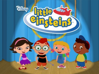Speel met deze vier slimme wonderkinderen in Little Einsteins, gebaseerd op de TV-serie.