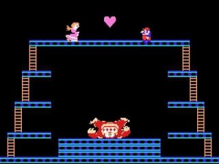Kan jij Mario's vriendin Pauline redden uit de klauwen van Donkey Kong?