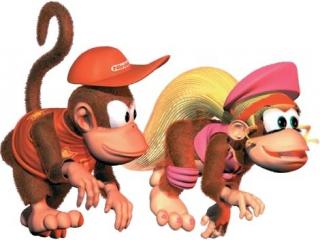 Speel als Diddy en Dixie en red <a href = https://www.mariogba.nl/gameboy-advance-spel-info.php?t=Donkey_Kong target = _blank>Donkey kong</a> van de Kremlins!