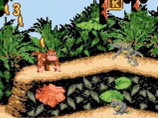 De game is een remake van de originele game op de SNES!