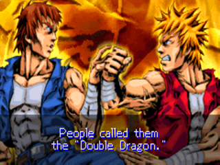 Billy & jimmy staan velen bekend als de Double dragon.