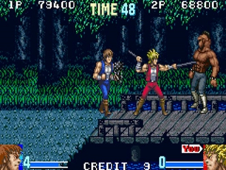 Double Dragon Advance: Screenshot