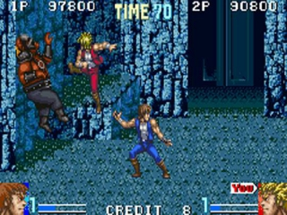 Double Dragon Advance plaatjes