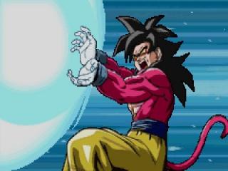 In dit spel heb je de mogelijkheid om te spelen met 9 personages, waaronder Goku, Trunks en Uub.