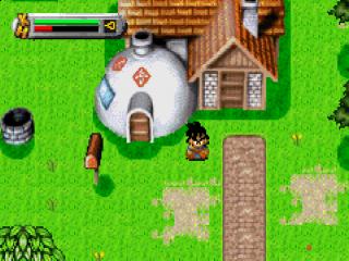 Dragon Ball Z heeft prachtige graphics voor zijn tijd en de capaciteiten van de GBA.