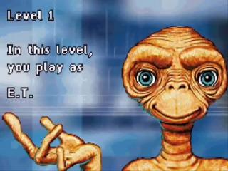 E.T. zit in de problemen en heeft je hulp nodig! Breng hem terug naar zijn ruimteschip.