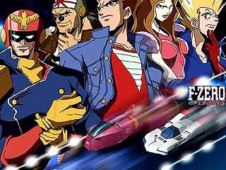 Race er op los met Captain Falcon en zijn rivalen.
