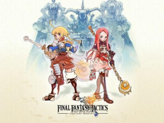 Final Fantasy Tactics Advance: Afbeelding met speelbare characters