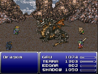 Final Fantasy VI Advance: Screenshot