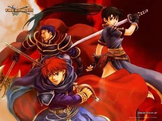 Speel in dit spel als de krijgers Lyn, Eliwood en Hector.
