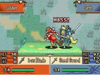 Het is een turn based gevechtsgame met leuke animaties.