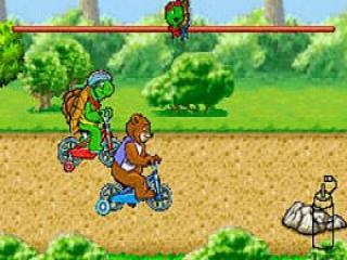 Tegen een schildpad racen kan ik ook!
