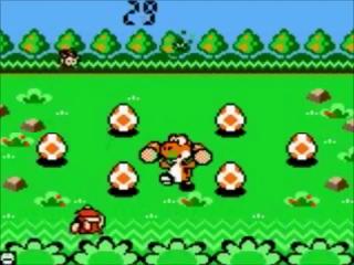 Bescherm de eieren door indringers te pletten met een hamer in het spel 'Vermin'.