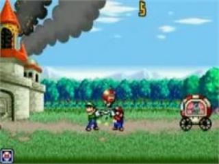 O, nee! <a href = https://www.mariogba.nl/gameboy-advance-spel-info.php?t=Mario_and_Luigi_Superstar_Saga target = _blank>Mario en Luigi</a> moeten de Toads redden! Laat ze niet vallen, Mario!