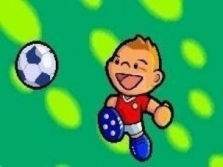 Speel als een cartoon-versie van David Beckham.