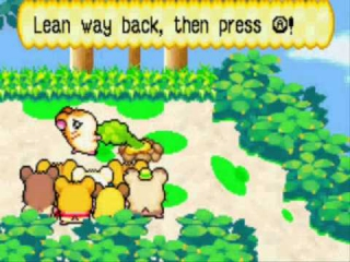 Hamtaro Rainbow Rescue: Screenshot