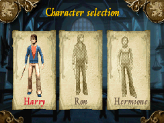 Speel als Harry, Ron of Hermelien!