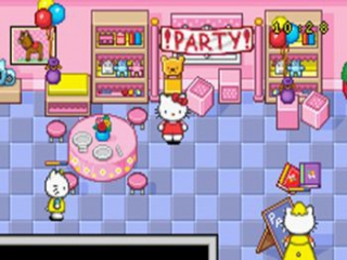 Hello Kitty Happy Party Pals: Screenshot