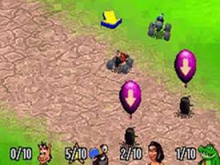 In de multiplayer mode neem je het op tegen je eigen vrienden.