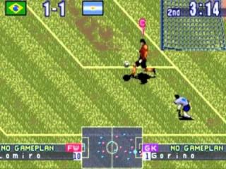 Ook op de <a href = https://www.mariogba.nl/gameboy-advance-spel-info.php?t=Game_Boy_Advance target = _blank>GameBoy Advance</a> ziet ISS er mooi en kleurrijk uit.