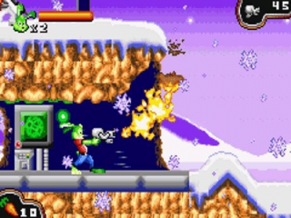 Jazz Jackrabbit: Screenshot