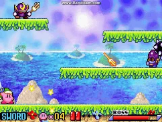 Deze keer gaat <a href = https://www.mariogba.nl/gameboy-advance-spel-info.php?t=Kirby_and_the_Amazing_Mirror target = _blank>Kirby</a> op zoek naar de verdwenen toverstok.
