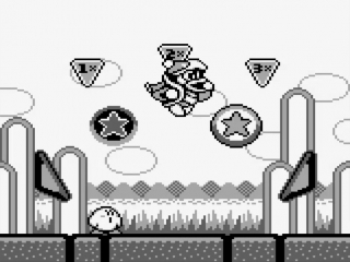 Het schattige personage <a href = https://www.mariogba.nl/gameboy-advance-spel-info.php?t=Kirby_and_the_Amazing_Mirror target = _blank>Kirby</a> is terug in een unieke omgeving: een flipperkast.