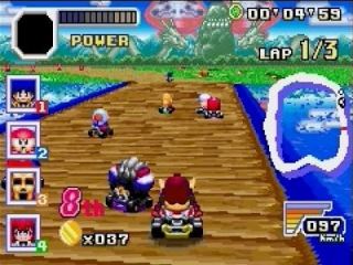 Konami Krazy Racers plaatjes