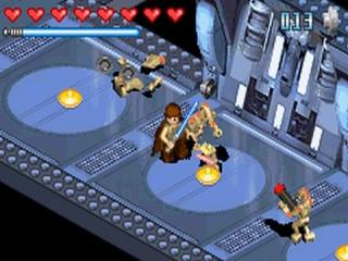 Speel als Lego-versies van alle bekende Star Wars-helden!