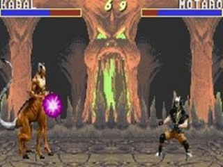 MKA Mortal Kombat Advance plaatjes