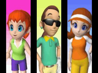 Mario Golf: Afbeelding met speelbare characters
