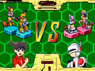 Spelers besturen een enkele Medabot en nemen deel aan 2x2 teamgevechten met inzet van robotonderdelen.