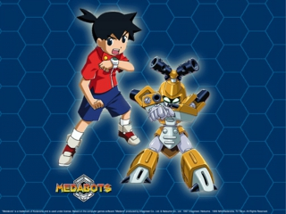 Speelt als de personage Ikki met als partner Metabee.