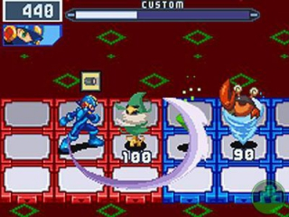 Mega Man Battle Network: Screenshot