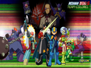 Mega Man Battle Network 5: Team Colonel: Afbeelding met speelbare characters