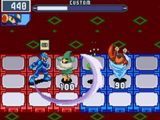 Mega Man Battle Network 5 Team Colonel: Screenshot