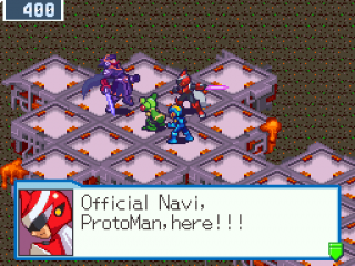Mega Man Battle Network 5 Team Colonel plaatjes