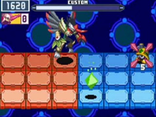Mega Man Battle Network 6 Cybeast Falzar: Screenshot