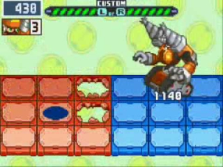 Mega Man Battle Network 6 Cybeast Gregar: Screenshot