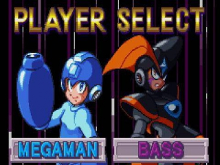 Speel als Mega Man of Bass, met elk hun eigen verhaallijn, en neem het op tegen de schurk Robot King.
