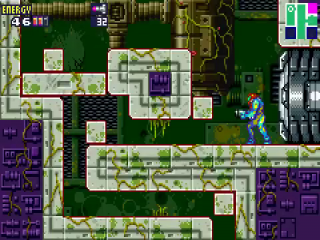 Metroid Fusion is een prachtig platform/shooter/avonturenspel.