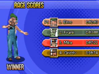 Je kunt kiezen uit een gevarieerd aantal characters.