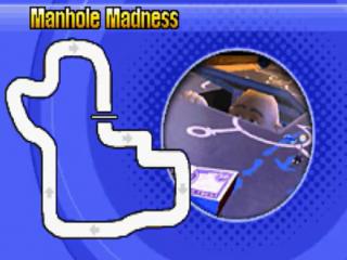 Het spel telt in totaal 21 tracks waar je op kan racen.
