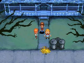 Van links naar rechts:<br /> Jenny, DJ en Chowder, onze drie hoofdpersonen.