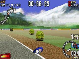 Komt er van als je zo snel rijdt!